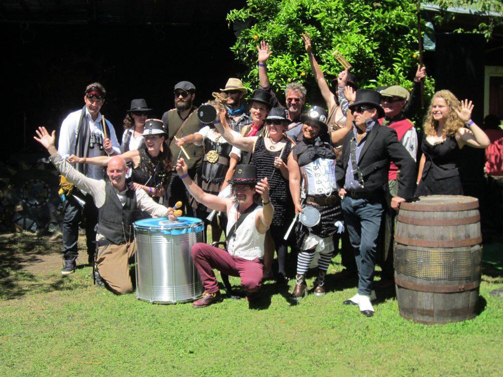 baybatucada-steampunk-style